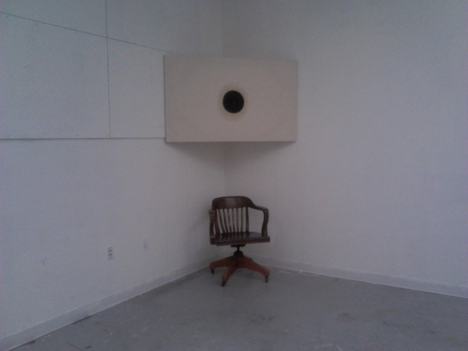 installation chair far away
