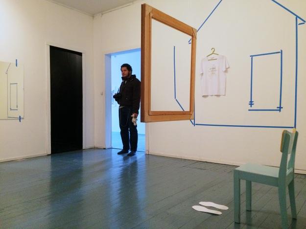 Haihatus installation view portrait home Joao