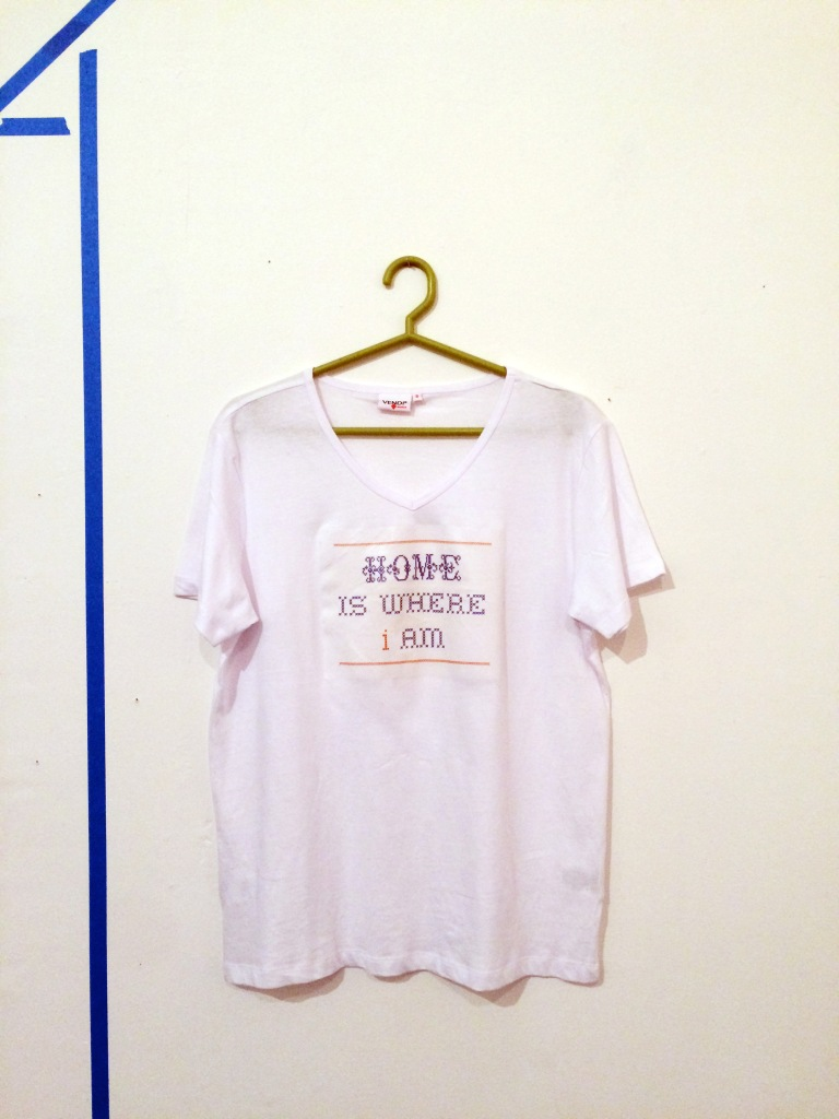 Home is where i am shirt