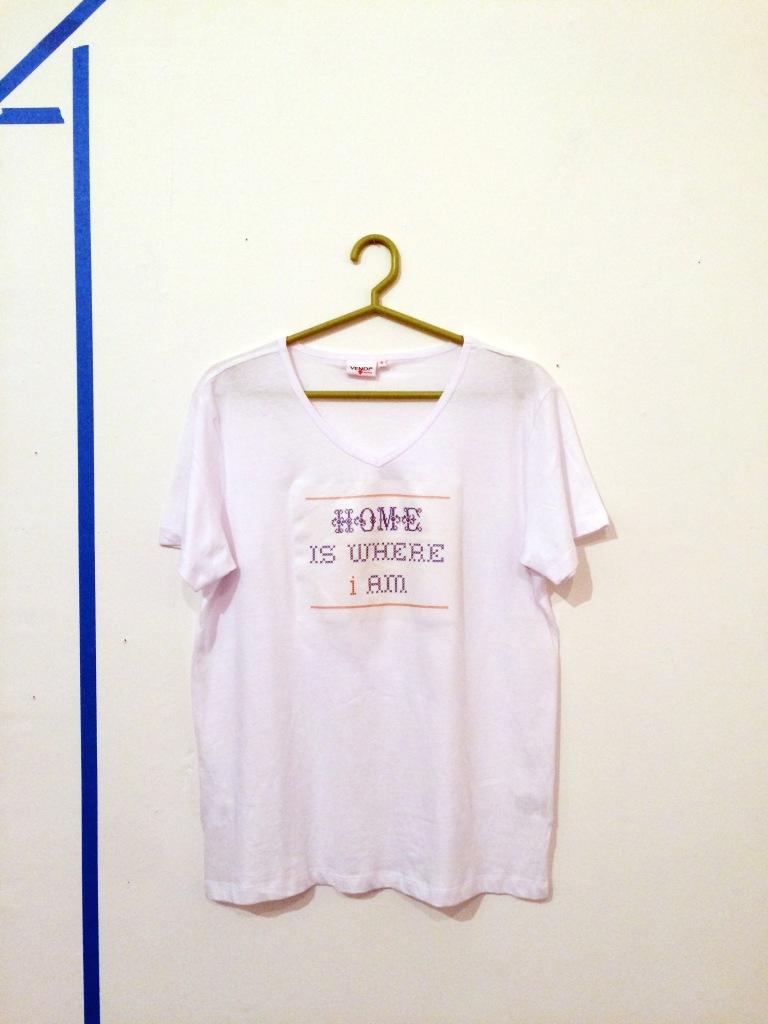 Home is where i am shirt