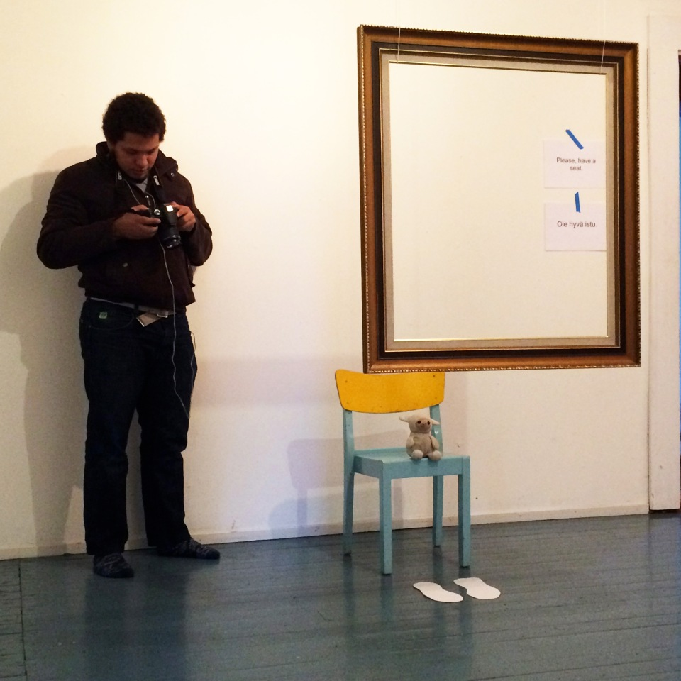 Reflexive Portrait Joao and Sheep 3 square