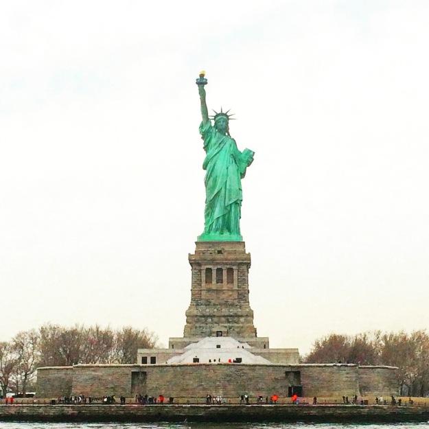 nyc statue portrait