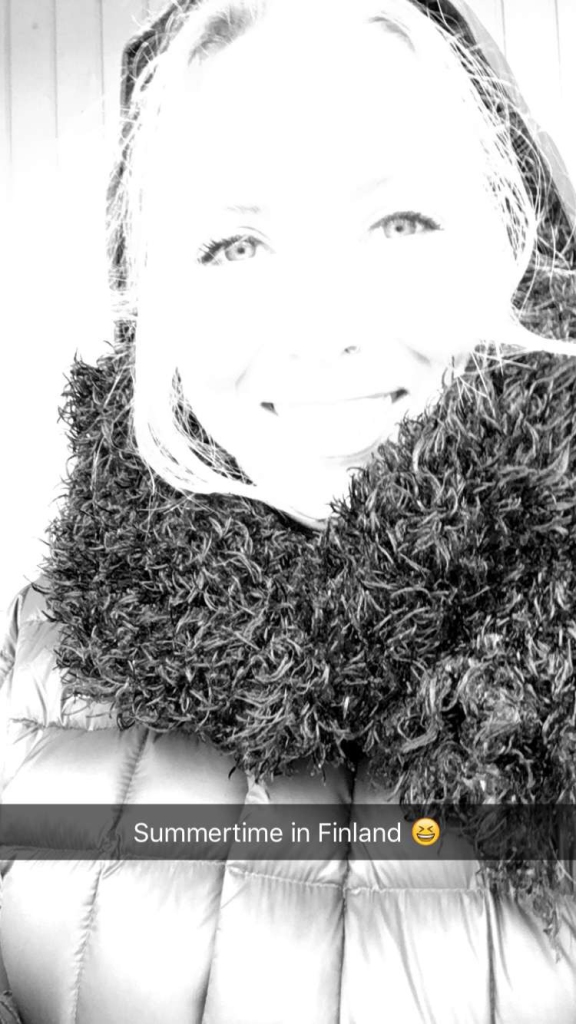 2016 k winter selfie